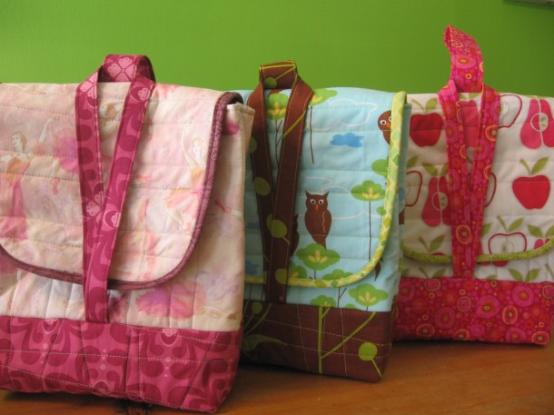Not-So-Brown-Bag Insulated Lunch Bags