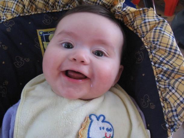 Gratuitous Happy Baby Picture