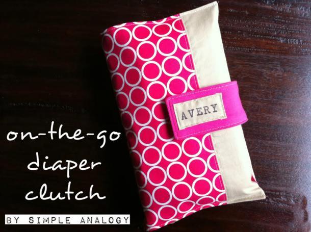Diaper Clutch Image